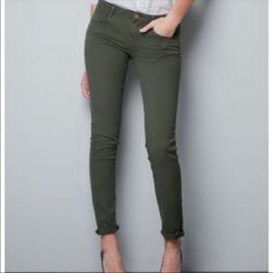 Zara Basic Z1975 Mid-rise skinny Denim Size 6